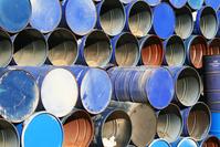 Blue Barrels 2