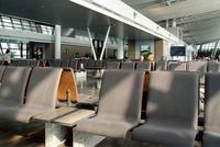 Flight departure gate