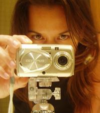 self portrait in the mirror