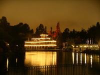 Disney River Boat
