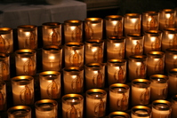 Candles at Notre-Dame