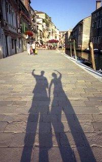 Shadows in Venice