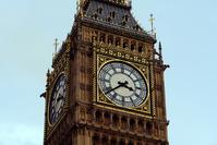 Big Ben's clock Zoom