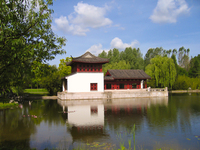 chinese house reflection