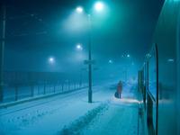 Train platform, Poland 2