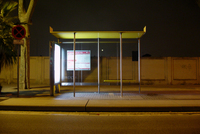 Bus stop Barcelona