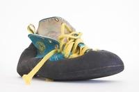 My climbing shoe