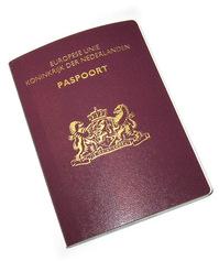 Dutch pasport (new model)