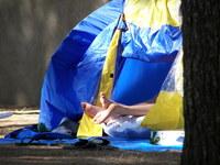 feet tent