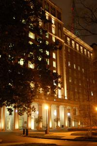 The Biltmore Hotel at Night