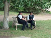 Fort Edmonton Train Conductors
