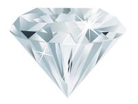 Blue Gray Diamond