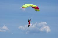skydivers landing 2