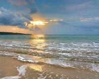 Bali beach sunset 2