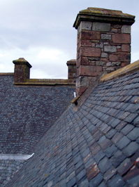 Castle roof