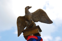 Eagle from napoleonic army banner 3
