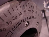 Counterbalance Tripod knob
