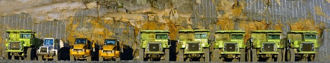 Mining Trucks Panaorama 1