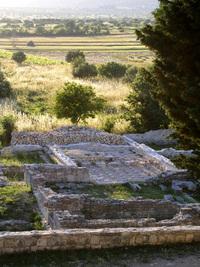 Roman villa rustica in Danilo