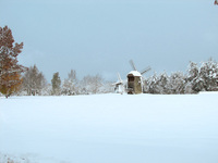 snowy windmill 1
