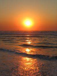 Sunrise in durbs