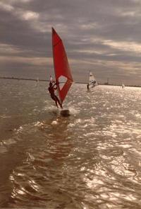 Windsurf at Dusk