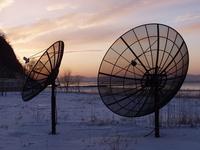 satellite antennae