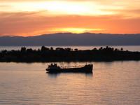 Boat at Sunset 2