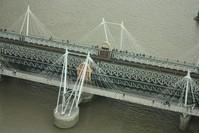 Rail and foot bridge