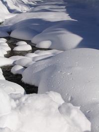 snow filled creek 2