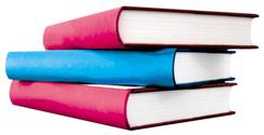 books tiled