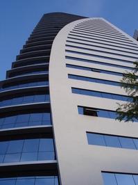 sky building blue, architectur