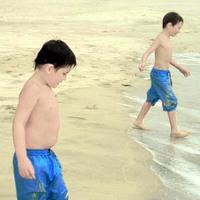 boys on the beach 2