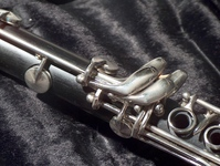 clarinet closeup