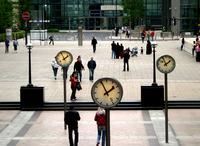 Clocks standing still