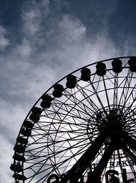 Ferris Wheel Silhoutte