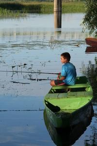 Boy fishing 1