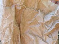 detail of big bag of charcoal