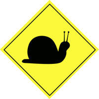 Traffic warning sign 9