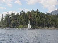 A Lake Tahoe Sail Boat