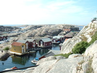 Traditional Swedish Village