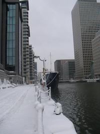 Snow in London 5