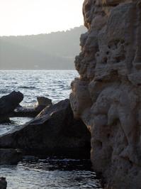 Rocks at Salinas Beach, Ibiza