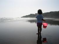 walk by the beach 1
