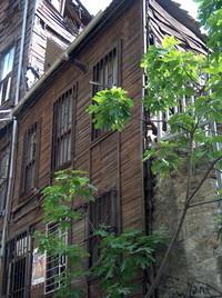 behind Hagia Sofia
