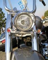 shiny bike
