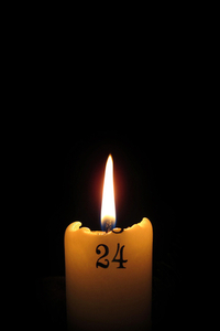 Calender candle