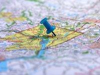 Washington DC on the map 3