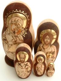 Russian nesting dolls 3
