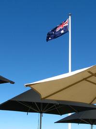 Australia Flag in Canberra